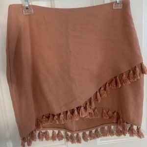 Fate Tassle Fringe Mini skirt